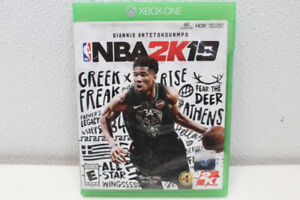NBA 2k19 video game for Xbox One. Brand new. Mint Condition
