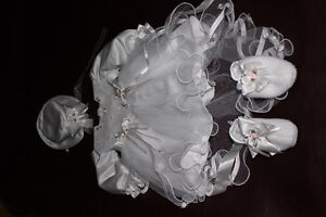 Brand new baptism outfit for baby girl