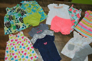 Baby Girl Dresses and Outfits Size 9-12m