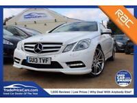 2013 13 MERCEDES-BENZ E CLASS 2.1 E220 CDI BLUEEFFICIENCY SPORT 2D AUTO 170 BHP