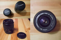 CANON LENS 35-80 MM / 75-300 MM I USED & CHEAP