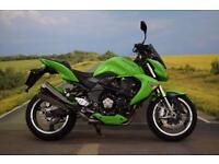 Kawasaki Z1000 **Hand Guards, Tinted Screen, Heated Grips**
