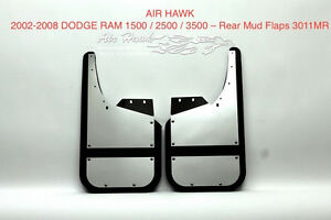 2002-2008 DODGE RAM AIR HAWK REAR MUDFLAPS