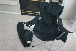 BRAND NEW! OUTDOOR FOLDING CHAIR WITH COOLER~COVER & CHAIR