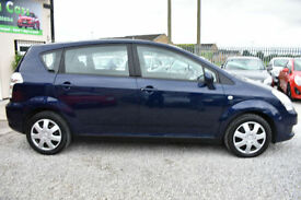 Toyota Verso 1.6 VVT-i T2 5 DOOR 7 SEATER BLUE +READ THIS ADVERT!+