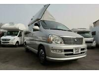 Toyota Hi-ace 4 berth pop top PETROL AUTOMATIC 2002/02