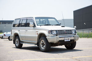 1993 Mitsubishi Pajero Right Hand Drive - RHD SUV Postal Vehicle