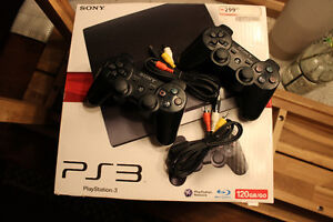 SONY PS3 120GB and 2 Controllers: $100 OBO