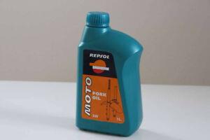 Caisse d'huile à fourches Repsol 15w-30