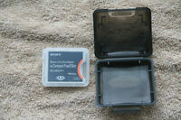 Memory Stick Duo to Compact Flash adapter ( New )