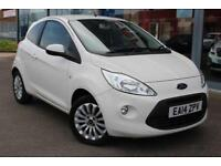 2014 FORD KA 1.2 Zetec LOW MILES, GBP30 TAX, ALLOYS, AIR CON and HTD SCREEN