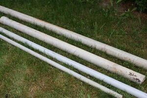 PIPES - PVC; POLES; BARS; POSTS; COLUMNS- see ad