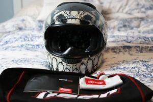 Icon Airframe Construct Manic Motorcycle Helmet