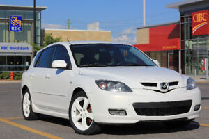 2009 Mazda 3 Sport GS Hatchback - Safety Included
