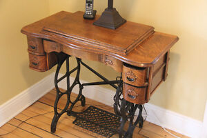MOVING SALE - Antique Vintage Treadle Sewing Machine