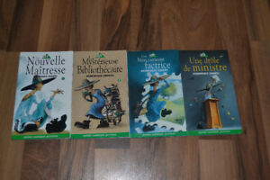 4 livres collection charlotte dominique demers