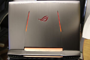 ASUS G752VL,32G MEMORY , 2TB HDD, with NVIDIA GTX965M