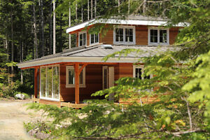 8 acre treed lot with 2 charming homes in the Comox Valley