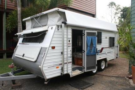 Coromal Tandem Axle Pop-Top Caravan Seka 535 Bundaberg Central Bundaberg City Preview
