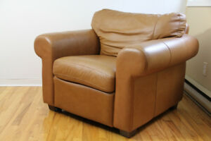 Leather Sofa Cuire