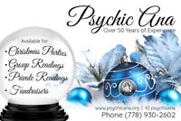 Psychic Ana - Over 50 Years of Experience