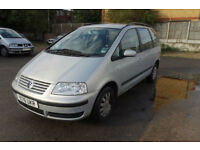 Volkswagen Sharan 2.0 auto 2001MY S SPARES OR REPAIR