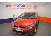 2015 65 VOLKSWAGEN GOLF 1.6 MATCH TDI BLUEMOTION TECHNOLOGY 5D 109 BHP DIESEL