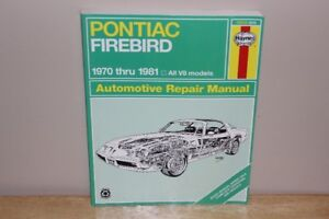 Pontiac Firebird/Trans AM Manual