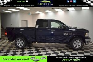 2017 RAM 1500 OUTDOORSMAN QUAD 4X4  - BACKUP CAM**U-CONNECT