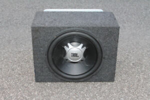Car Subwoofer with Amplificator