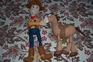 Toy Story Woody and Horse Rare Set