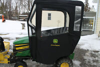 John Deere Lawnmower Inclosure