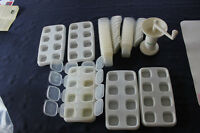 baby food freezer storage cubes