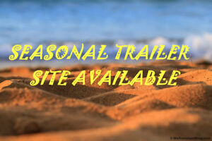 SEASONAL TRAILER SITE AVAILABLE