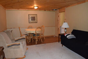 1 Bedroom Furnished Basement Apartment in Private Riverview Home