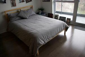 full size bed frame..ikea (tarva)