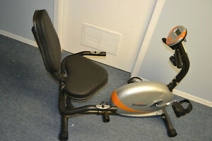 TEMPO FITNESS RECUMBENT EXERCISE BIKE