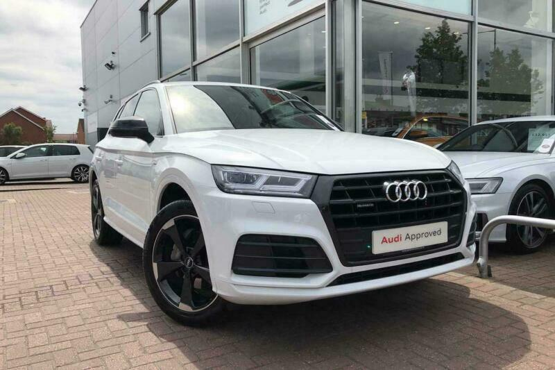 2019 Audi Q5 Black Edition 40 TDI quattro 190 PS S tronic Diesel white Semi  Auto | in Aylesbury, Buckinghamshire | Gumtree
