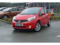 2014 NISSAN NOTE Nissan Note 1.2 Acenta 5dr