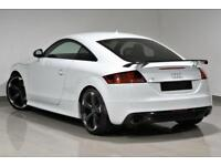 2013 White Audi TT Coupe 2.0 TFSI S Tronic Quattro Black Edition TTRS STYLING-PX