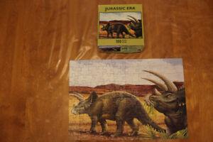 Casse-tête dinosaure 100 morceaux