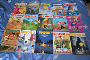 15 SPIROU Magazine from number 4094 to 4109 in perfect state!