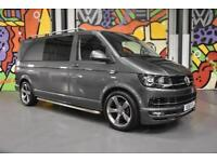 2016 VW TRANSPORTER T6 T30 140PS LWB HIGHLINE KOMBI SPORTLINE PK INDIUM GREY
