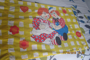 Vintage Raggedy Ann And Andy Pillowcase London Ontario image 1