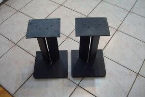 Supports de haut parleurs - Solide en bois - 16 po. de hauteur
