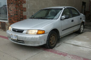 1998 Mazda Protégé ES 4 Door Sedan: Parts Car Only