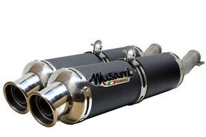 Honda VTR 1000 SP1 Musarri Performance B/O Exhaust Exhausts - BLACK