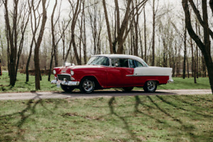 55  Chev belair 2dr hard top