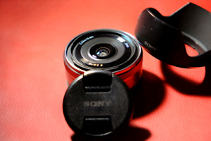 Sony Alpha 16mm F2.8 E Mount lens Lentille