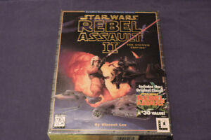 Star Wars, Rebel Assaut II + rebelle Assault I, jeux Pc